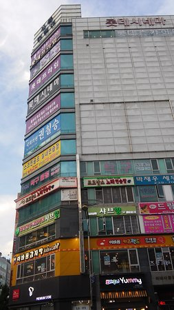 VR Zone - Hwaseong Byeongjeom: this is the Lotte Cinema/VR Zone location (8th flr)