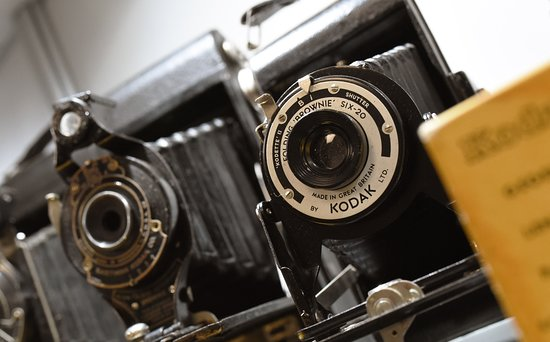Hamilton, New Zealand: Camera from our Kodak collection