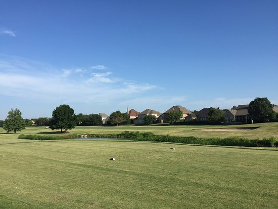 Coppell, TX: Riverchase Golf Corse tee box #12