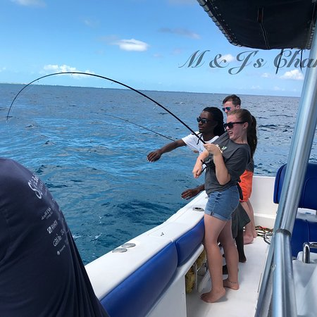 M & J's Charters: Having fun with Clients!!!
