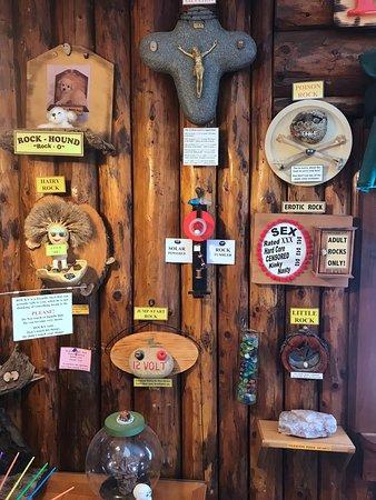Tigerton, Висконсин: Rocks for Fun Cafe interior