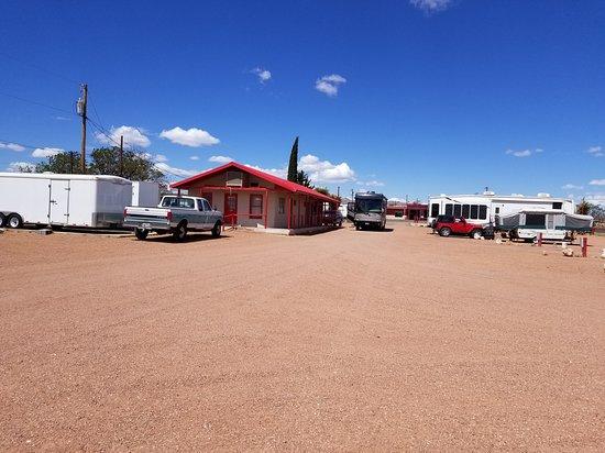 Van Horn, TX: Office area