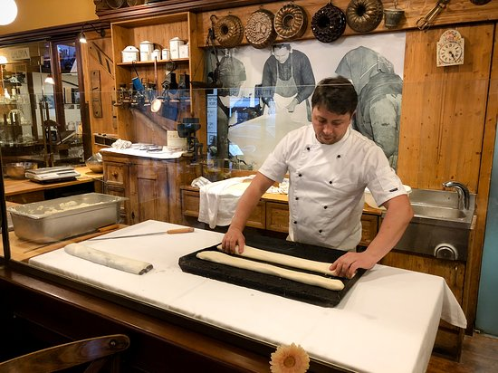 Photo Tours in Hungary by Miklós Mayer: Making strudel. This was my fave dessert place.