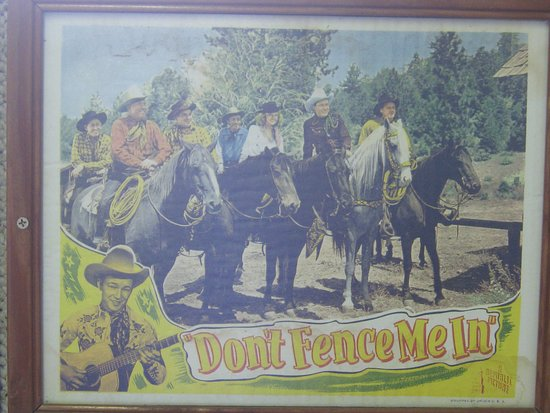 McLean, TX: Interesting entertainment exhibits.