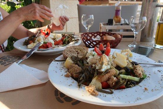 Mistral Restaurant and Bar: Cretan salad