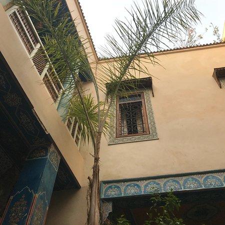 普卡摩洛哥传统庭院住宅照片