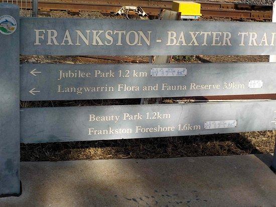 Frankston - Baxter Trail: Near Frankston