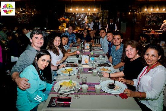 Peru Culinary Tours: Lima Bohemian Tour at La Dama Juana restaurant