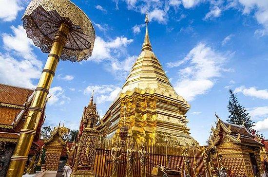 Templo Wat Doi Suthep - Cascada...