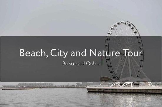 Enjoy Beach, city and green region of...