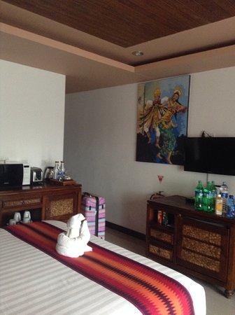 Karma Mayura: This was our room