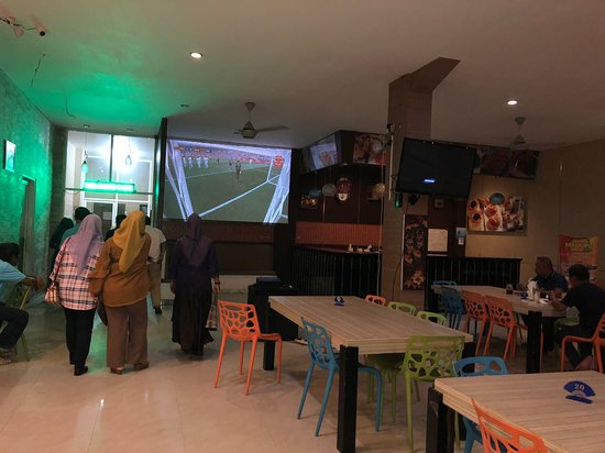Tarakan, Indonesien: Nobar wirdcup 2018