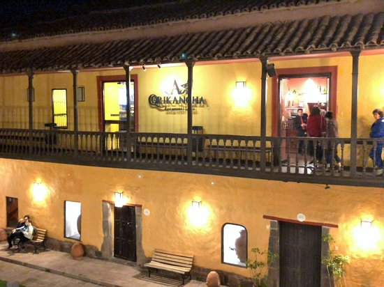 Casa Qorikancha: Restaurant on upper floor