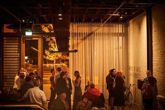 Premier Mill Hotel: The Loading Dock space available for functions and events.