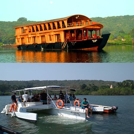 Morjim, India: Boat Cruises