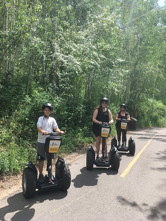 Vail Segway: Having fun