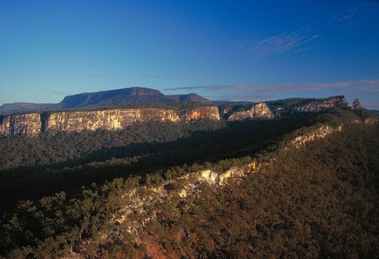 Carnarvon National Park, Australia: Carnarvon Gorge; dramatic scenery, abundant plant and animal life, and its cultural history.