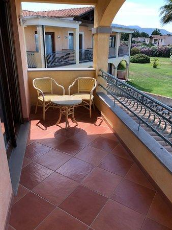 Hotel Santa Gilla: Balkon
