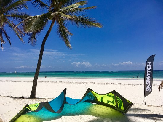 Diani Beach, Kenya: the view from the office