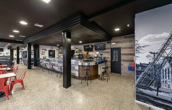 Argales Café Bar: Cafetería