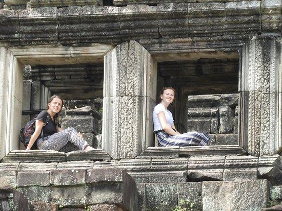 Amazing Angkor Adventure: at baphoun temple