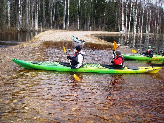 Seikle Vabaks : Kayaking in Soomaa flood
