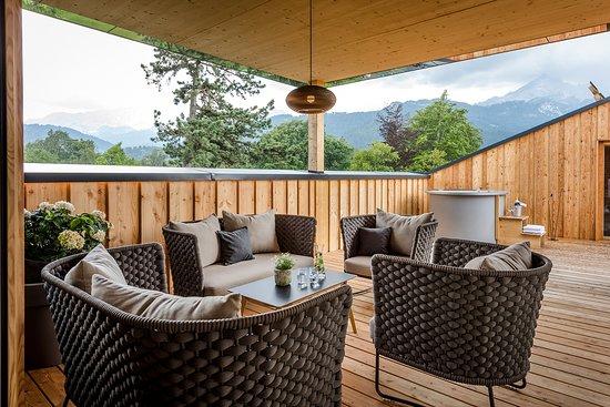 Werdenfelserei: Dachterrasse Top Suite