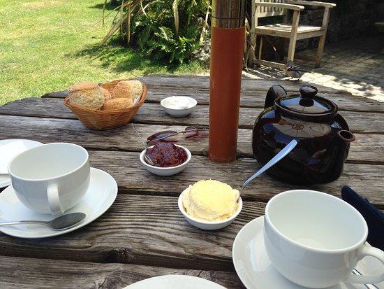 Morvah, UK: Cream Tea at Rosemergy's