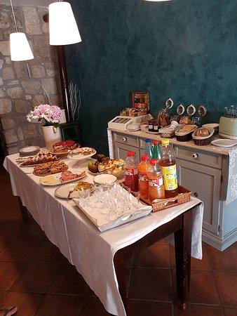 B&B Piana La Gatta: buffet della prima colazione