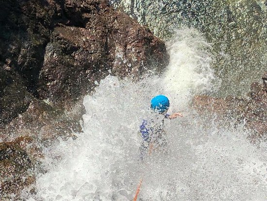 Crags Adventures: Climbing the last waterfall