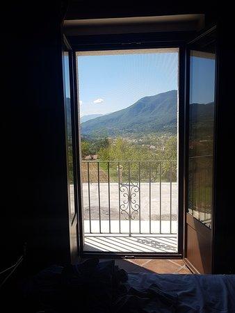 B&B Piana La Gatta: panorama dalla camera al primo piano
