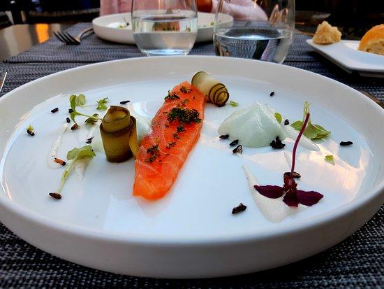 Richerenches, France: Entrée du menu du Chef