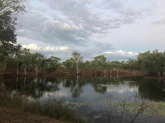 Cobbold Village: The Cobbold dam