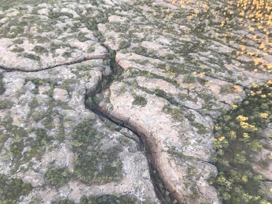Cobbold Village: Aerial view of the gorge