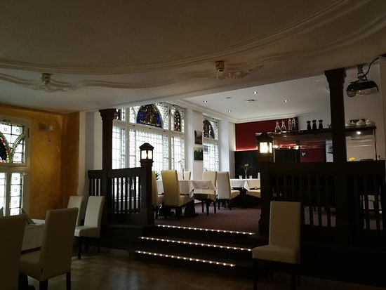 Statt-Cafe: Innenbereich (unterer Speiseraum)