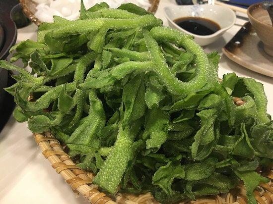 Daiichi Hotpot: 冰菜很好吃