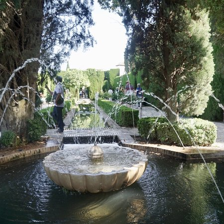 阿尔罕布拉宫照片
