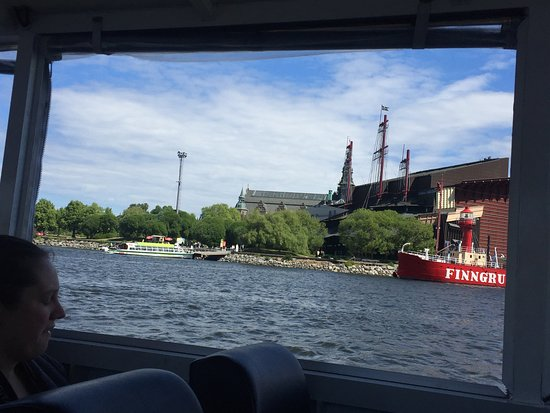 Vasa Museum from the ocean bus