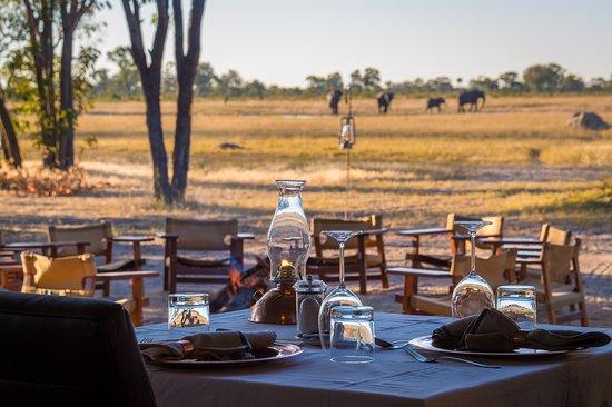Wilderness Safaris Little Makalolo Camp: Lunch at Little Makalolo
