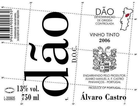 Enjoy Coffee Bar: Portugal Dao Álvaro Castro.