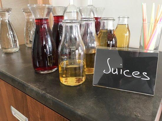 Sette: juices