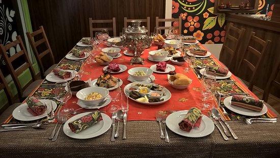 Szolnok, Węgry: Terített asztal