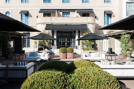 Hotel Granvia : Terrace