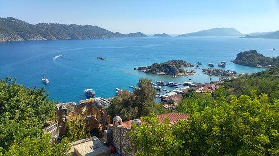 Xanthos Travel: Kaleköy Kalesi'nden Kekova Körfezi