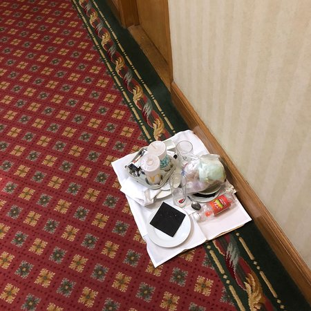 Urban Hotel Grantham: Why must I keep walking past this tray?