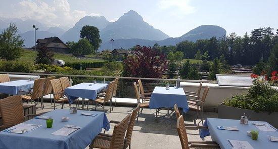 Morschach, Ελβετία: Restaurant Panorama Terrasse