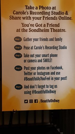 Beautiful The Carole King Musical: Inside poster