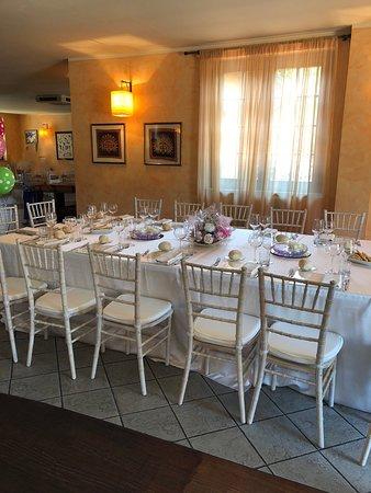 Cogliate, Italia: La tavola