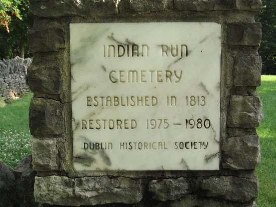 Dublin, OH : Indian Run Cemetery