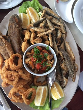 Olimp, Romênia: fishermen's plate for 2! absolutelly great!